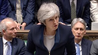 Parliament votes on Brexit deal with Europe