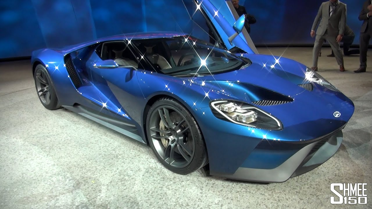 FIRST LOOK: Ford GT - Walkaround and Startup - NAIAS 2015 ...