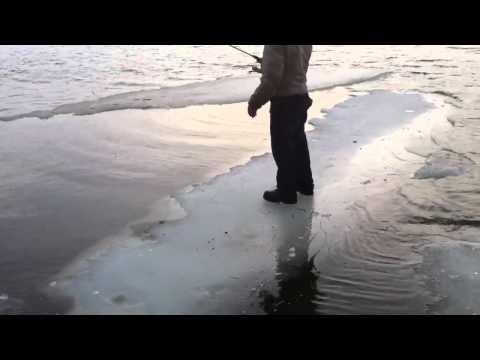 Redneck ice fishing