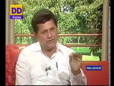 Achyuta Samanta, Founder, KIIT & KISS on DD National (Dec 5, 2013)