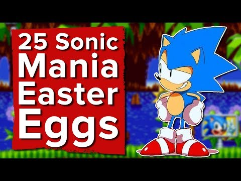 25 Sonic Mania Easter Eggs You Might Have Missed