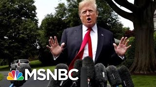 President Donald Trump Falsely Blames Democrats For Family Separation | All In | MSNBC
