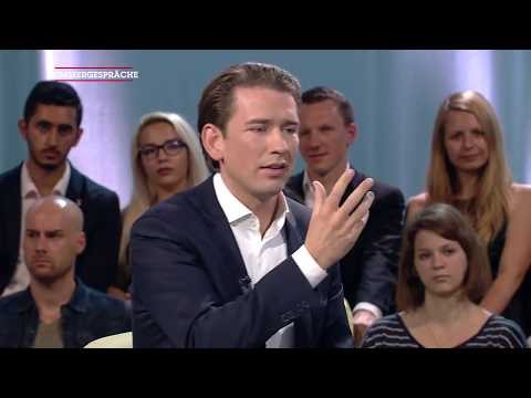 Sommergespräch mit Sebastian Kurz 2017