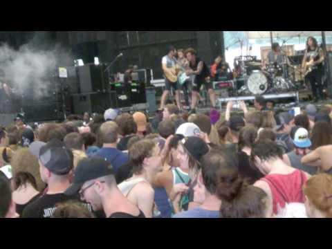American Authors - I'm Born To Run (Vans Warped Tour 2017, ATL)