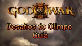 God of War III - Remastered   Tutorial para todos os Desafios do Olimpo  - Fácil e rápido