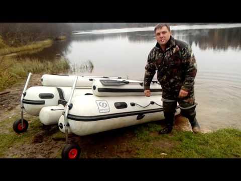 Колёса на лодку Фрегат фм-390 люкс