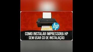 Como instalar Impressora sem Cd
