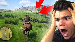 FIRST REACTION To PLAYING Red Dead Redemption 2