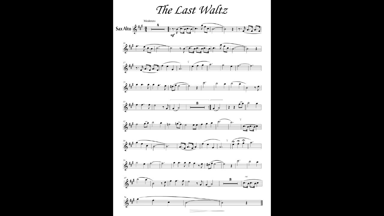 ноты для саксофона альта азино777