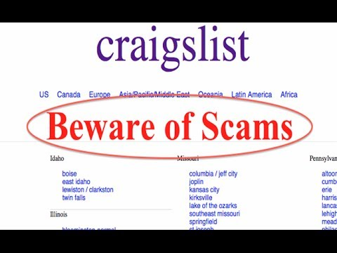 Craigslist Scam Artist Tried To Scam Me In Person - YouTube