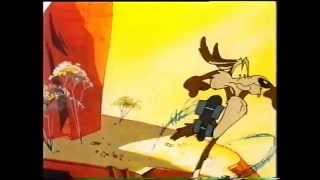 HBF insurance commercial (1992) - featuring Wile E Coyote and the Road Runner