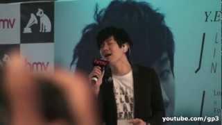 JJ Lin 林俊傑 - 不存在的情人LIVE@Singapore 新加坡學不會簽唱會 HD