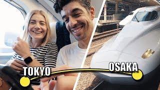 Bullet Train! Onboard the Shinkansen Tokyo to Osaka