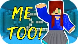 ♫ Me Too ♫ - Meghan Trainor Minecraft Music Video Parody MTrain MV minecraft lyrics Animation