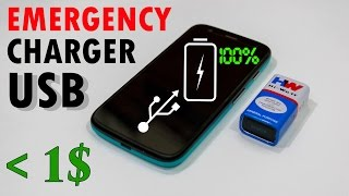 How to Make a Power Bank for Mobile at Home for Under 1$ - Very Easy!