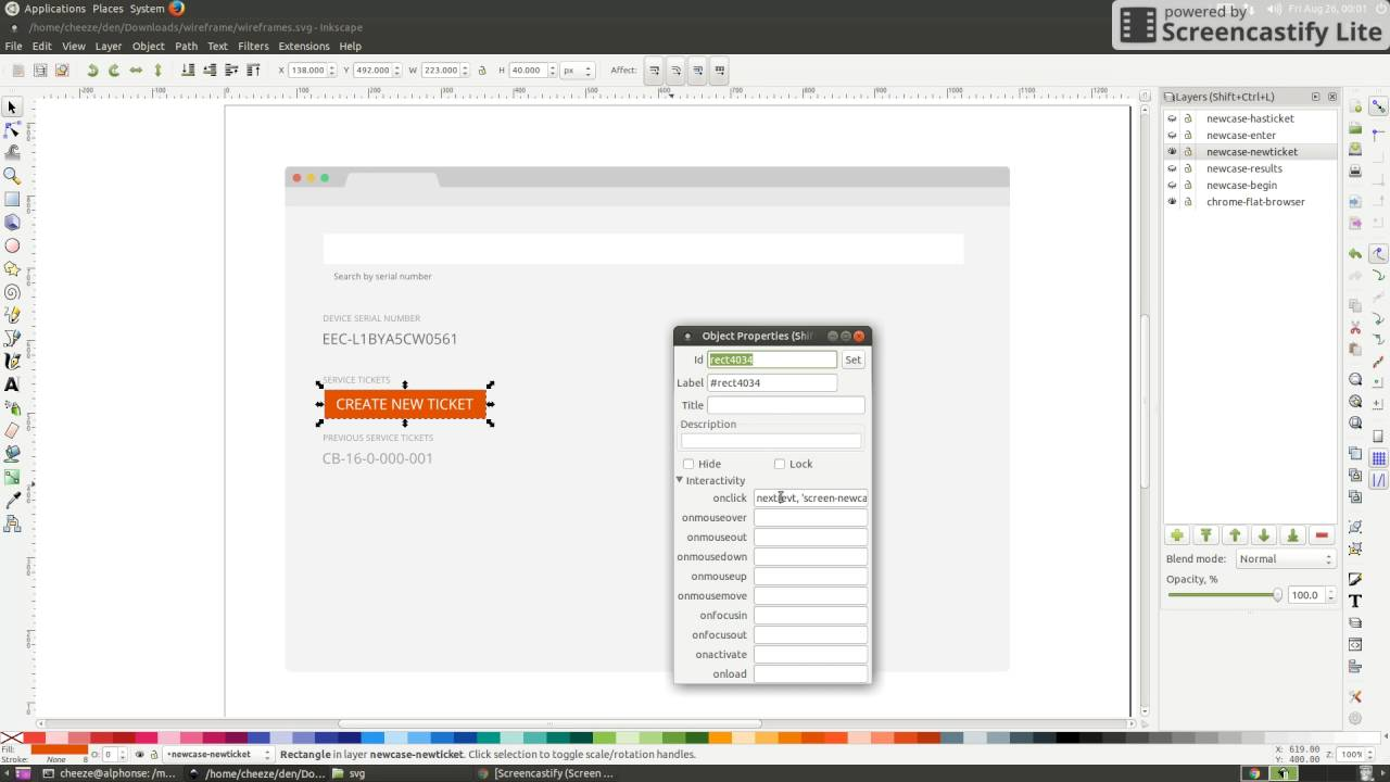 Using Inkscape as a Wireframing Tool (with some help from Python)