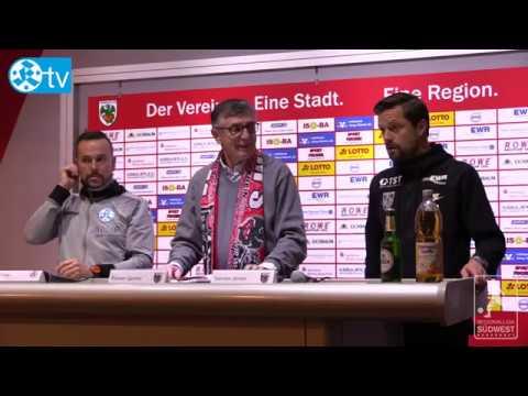 20. Spieltag, Wormatia Worms vs. Stuttgarter Kickers - Pressekonferenz