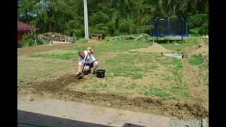Základní příprava zahrady pro setí trávy