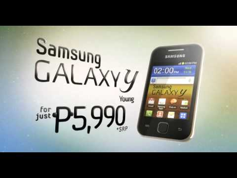 Samsung Galaxy Y ad
