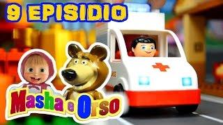 MASHA E ORSO EPISODIO 9 - Masha cade mentre rincorre Orso, va in ospedale ma non è nulla di grave !