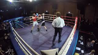 Ultra White Collar Boxing | Lincoln Show 1| Tom Awdry VS Alex Linder
