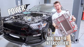 Supercharging my Mustang GT Pt.2! Engine Block Modification!