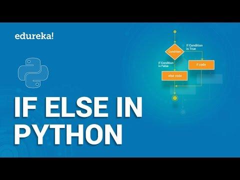 Python If Else | If Else Statement In Python | Python Training | Edureka