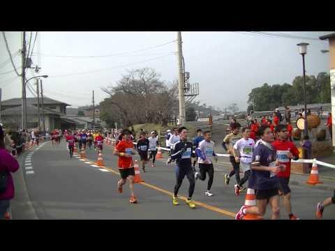 2013年3月10日 京都(Kyoto)マラソン(9時30分頃の仁和寺付近です)