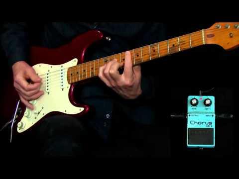 Classic Chorus Pedal Guitar Sounds - GuitarInstructor