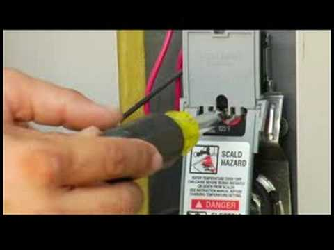 home maintenance electrical repair how to adjust waterheater temperature youtube