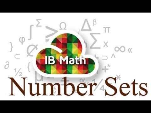 Chapter 1 - Number Sets - IB Math Studies (Math SL)