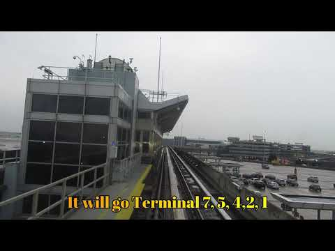 How To Move From Terminal 8 To Terminal 1 @JFK Airport December 2019