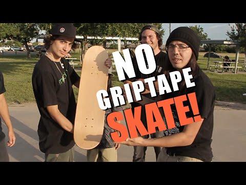 NO GRIP TAPE SKATE