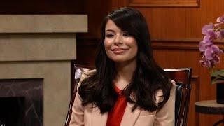 "Miranda Cosgrove's ""secret talent"" freaks Larry out! | Larry King Now | Ora.TV"