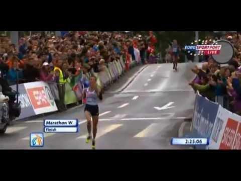 Christelle Daunay - Championne d'Europe de Marathon - Zurich 2014