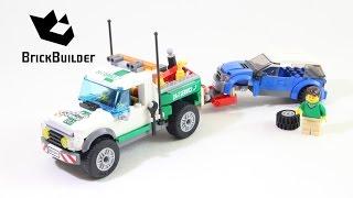 Kijk LEGO City 60081 Pick up Sleepwagen filmpje