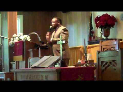 Rev. Gregory L. Barnes First Corinthians Baptist Church