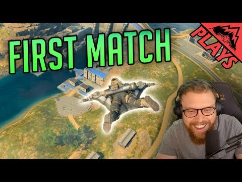 *NEW* BLACKOUT MODE FIRST MATCH EVER (VICTORY!) - COD: Black Ops 4 PS4 Beta (StoneMountain64)