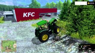 TEST MAP OBERAMMERGAU ALPS FARMING SIMULATOR 2015 BY ELTERROR82