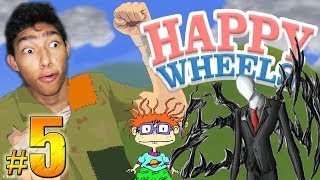 Happy Wheels: Episodio 5 | Slenderman, Carlitos y Mucha Sangre !!