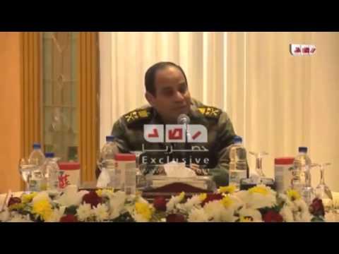 Il generale Sisi e i media