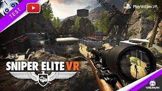 SNIPER ELITE VR PSVR PLayStation VR [TEST] VR4Player