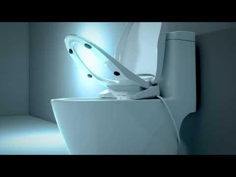 Bio Bidet Discovery DLS Bidet Toilet Seat Showcase   BidetKing.com