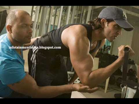 Hrithik At Gym Workout Pictures Youtube