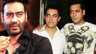 Ajay Devgn Reaction On EGO Clash With Salman & Aamir