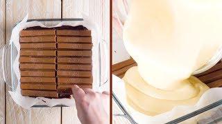 Запекаем 20 палочек КитКат в торт. Потрясающе!