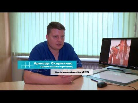 """Что делать при травме плеча? -  в программе """"600 секунд о здоровье и красоте""""."""