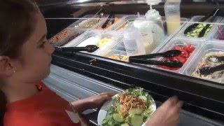 Feeding the Eye at the Salad Bar
