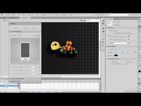 VIDEO 12 - Curso de Adobe Flash CS6 - Ejemplos - Mini Juego Para Android