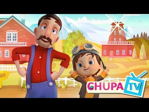 Old Macdonald Had A Farm Song | Nursery Rhymes Songs for Kids Collection by Chupakids TV